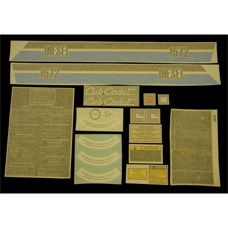 DECAL KIT 1572 759-3324 NEW