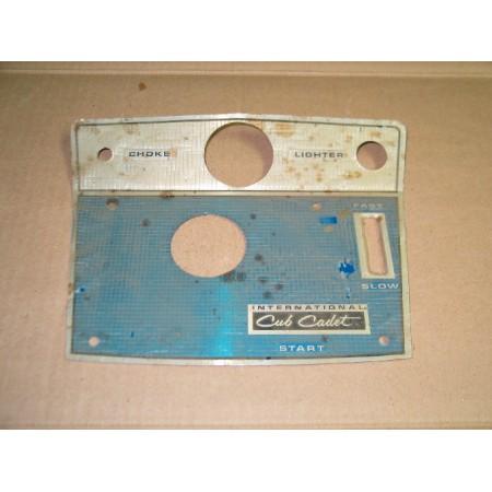 DASH TIN CUB CADET 104 124 NOS