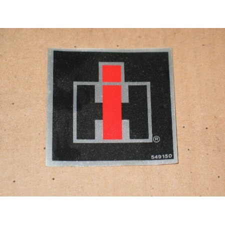 GRILLE INSERT DECAL CUB CADET IH 549150 R1 REPT NOS