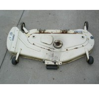 "MOWER DECK SHELL 44"" IH 59734 C1 IH 77756 759-3050 759-3251 190-358-100 USED"