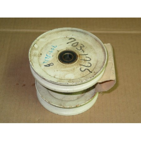 PULLEY ASSEMBLY CUB CADET 759-3652 756-3056 703-1775 WHT NEW