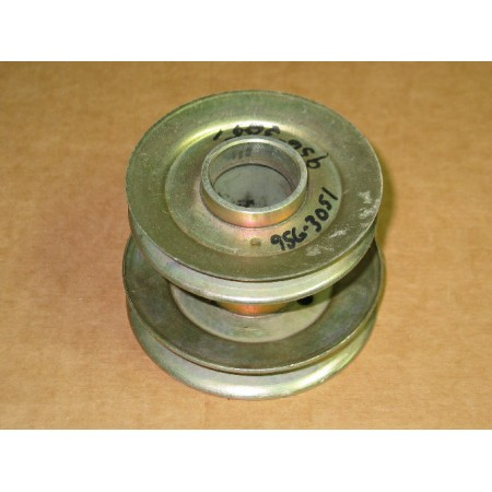 DECK DRIVE DOUBLE PULLEY CUB CADET 956-3051 759-3651 756-3051 NEW