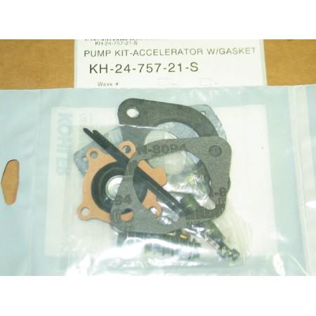 ACCELERATOR PUMP KIT W/GASKET KOHLER KH 24-757-21-S NEW