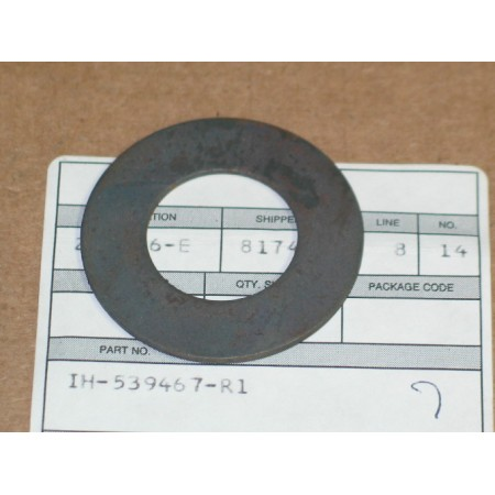 STOP WASHER IH 539467 R1 NOS