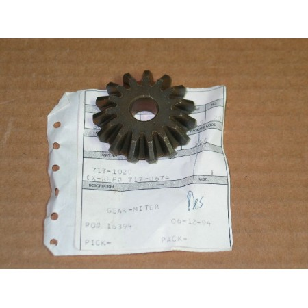 MITER GEAR CUB CADET 717-1020 717-1010 717-0674 NEW
