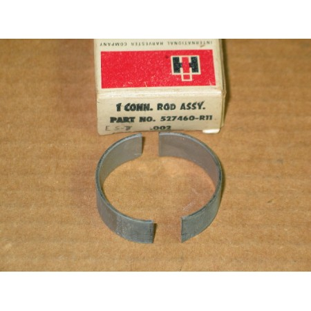 CONNECTING ROD ASSEMBLY BEARING .002 (2 PC) IH 527460 R11 NOS
