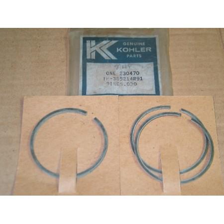 PISTON RINGS KOHLER IH 385214 R91 KH 230470 IH 400375 R91 .030 K161 NOS