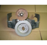 TWO STAGE FRONT MOUNTING PTO KIT 759-3197 ALUM PULLEY NOS