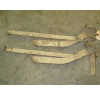 PROTECTIVE CANOPY ROPS REAR AXLE BRACKET ASSEMBLY CUB CADET IH 549932 R1 IH 528820 R1 NOS