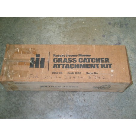 BAGGER KIT GRASS CATCHER ATTACHMENT CUB CADET IH 73824 C1 IH 73823 C1 IH 73822 C1 NOS