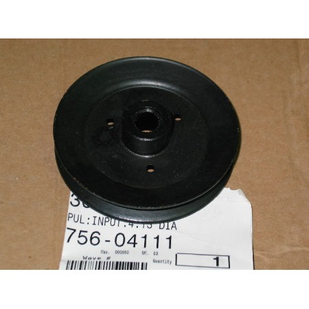INPUT PULLEY 756-04111 NEW