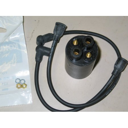 IGNITION COIL with PLUG WIRES KH-52-755-48-S NEW