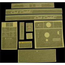 DECAL KIT 109 CUB CADET IH 546715 R94 NEW
