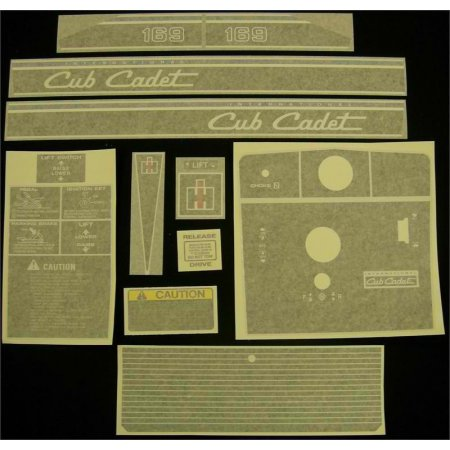 DECAL KIT 169 NEW