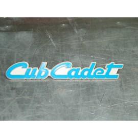 CUB CADET EMBLEM BLUE CUB CADET 779-3536 NEW