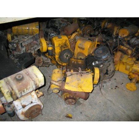 ENGINES & PARTS USED