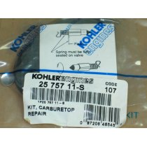 WALBRO CARBURETOR OVERHAUL KIT KOHLER KH 25-757-11 S  KH 25-757-08 KH 25-757-13 NEW