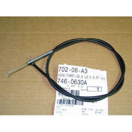 CONTROL CABLE CUB CADET 746-0630 A 946-0630 A NEW