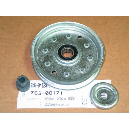 FLAT PULLEY CUB CADET 753-08171 956-04129 756-04129 NEW
